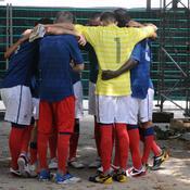 L'équipe de France des sans-abri