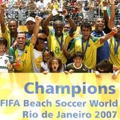 En 2007, le Brésil obtient son deuxième titre consécutif en battant le Mexique