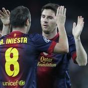Iniesta s'invite au gala