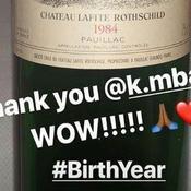 Kylian Mbappé a offert une prestigieuse bouteille de vin à LeBron James