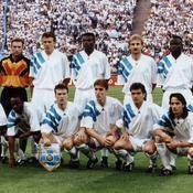 Le onze de l'OM le 26 mai 1993