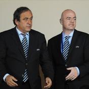 Michel Platini-Gianni Infantino
