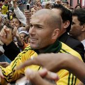 Zinédine Zidane au Brésil