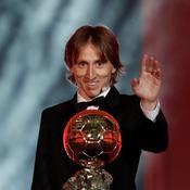 Les «braqueurs» de l'année 2018 (1/7) : Modric Ballon d'Or