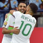 Mahrez évite le pire à l'Algérie face au Zimbabwe