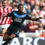 Stoke City-Manchester United Patrice Evra