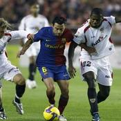 FC Seville Barcelone Xavi Hernandez Diego Capel Ndri Romaric