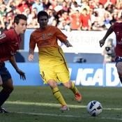 Messi sauve le Barça