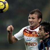 Inter Milan-AS Roma Diego Milito Marco Motta