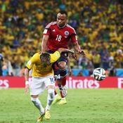 Neymar retrouve son bourreau du Mondial