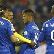 Soirée noire pour Neymar et le Brésil