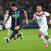 Edinson Cavani Paris SG Bordeaux Coupe de France