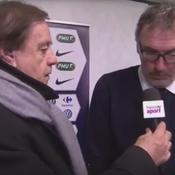 Le gros vent de Laurent Blanc à Daniel Lauclair après Saint-Etienne - PSG