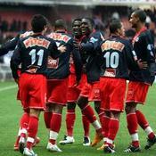Paris SG (joie contre Bastia, 18-03-08)