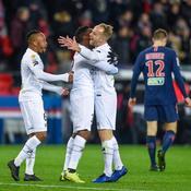 Coupe de la Ligue : Guingamp crée la sensation en éliminant le PSG, quintuple tenant du titre
