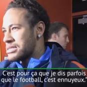 Neymar lassé par les polémiques : «On ne peut rien faire»