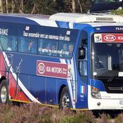 Le fameux bus de l'équipe de France