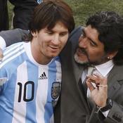 Lionel Messi-Diego Maradona
