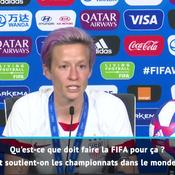 Coupe du monde féminine 2019 : À peine sacrée, Rapinoe repart au combat... et égratigne (encore) la FIFA