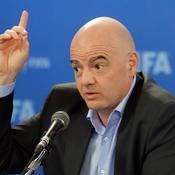 Le président de la FIFA Gianni Infantino - Crédit : REUTERS/Remo Casilli