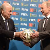 Sepp Blatter Vladimir Poutine