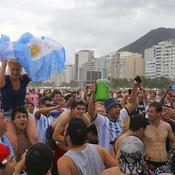 Les fans argentins