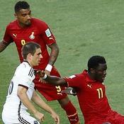 Kevin-Prince Boateng et Sulley Muntari