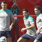 Cristiano Ronaldo, Ricardo Costa et Pepe