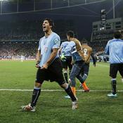Suarez relance l'Uruguay