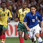 17 juin 1998 : l'Italie reprend des couleurs face au Cameroun