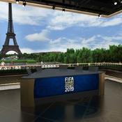 L'inédit studio de Fox Sports installé face à la Tour Eiffel pendant la Coupe du monde de football féminine