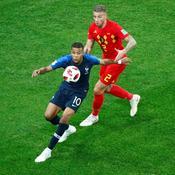 Coupe du monde 2018 : face à la Belgique, Mbappé a joué avec des vertèbres bloquées