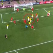 Coupe du monde 2018: les buts de Colombie-Angleterre