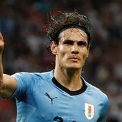 Coupe du monde 2018 : Porté par Cavani, l'Uruguay affrontera la France en quarts