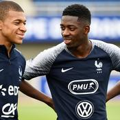 Kylian Mbappé et Ousmane Dembele