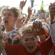 Du rire aux larmes pour les supporters anglais après l'élimination contre la Croatie