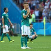 Encore une fois, la malédiction du tenant du titre a frappé avec l'Allemagne