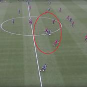 Lionel Messi régale même à l'entraînement
