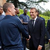 Coupe du monde 2018 : Macron rêve d'une «2e étoile» pour les Bleus