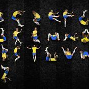 Un graphiste crée un alphabet à partir des chutes de Neymar