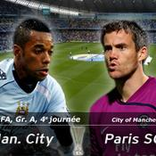 LIVE Manchester City-Paris SG