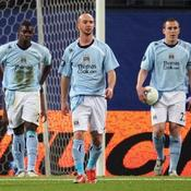 Micah Richards, Stephen Ireland et Richard Dunne
