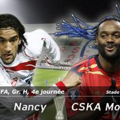 LIVE Nancy-CSKA Moscou