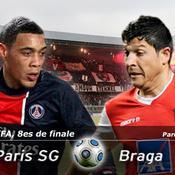 LIVE Paris SG-Braga