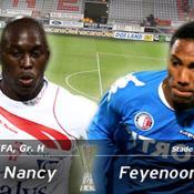 Marc-Antoine Fortuné LIVE Nancy-Feyenoord