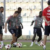 Equipe de France, entraînement