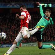 Arsenal-Barcelone Frappe Van persie