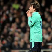 Arsenal-Barcelone Messi déception