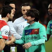 Arsenal-Barcelone Poignée de main