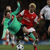 Arsenal-Barcelone Song sur Messi